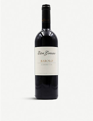ITALY: Ettore Germano Barolo Cerreta red wine 750ml