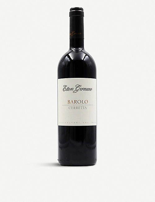 FINE WINES: Ettore Germano Barolo Cerreta red wine 750ml