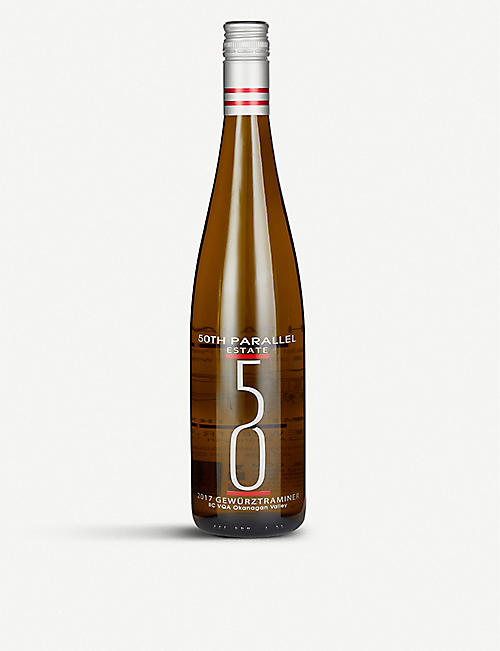 FINE WINES 50th Parallel Estate Okanagan Valley Gewürztraminer 750ml