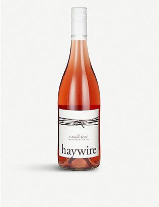 FINE WINES: Haywire 2018 Gamay rosé 750ml