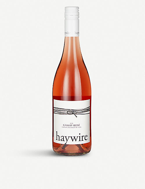 FINE WINES Haywire 2018 Gamay rosé 750ml