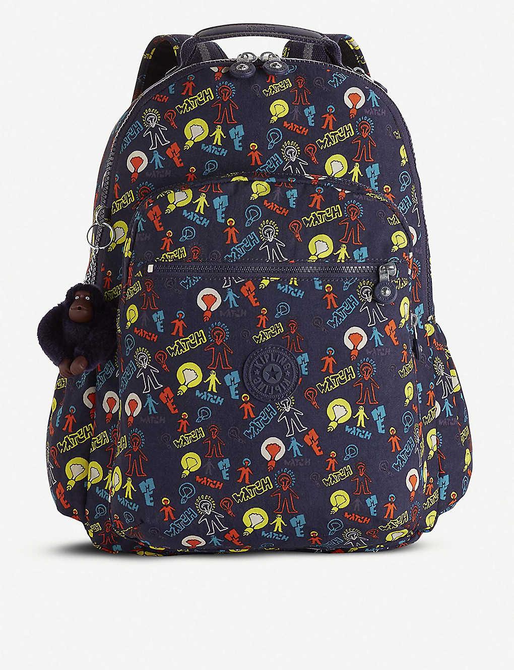 9ade419d8 KIPLING - Seoul Go nylon backpack | Selfridges.com