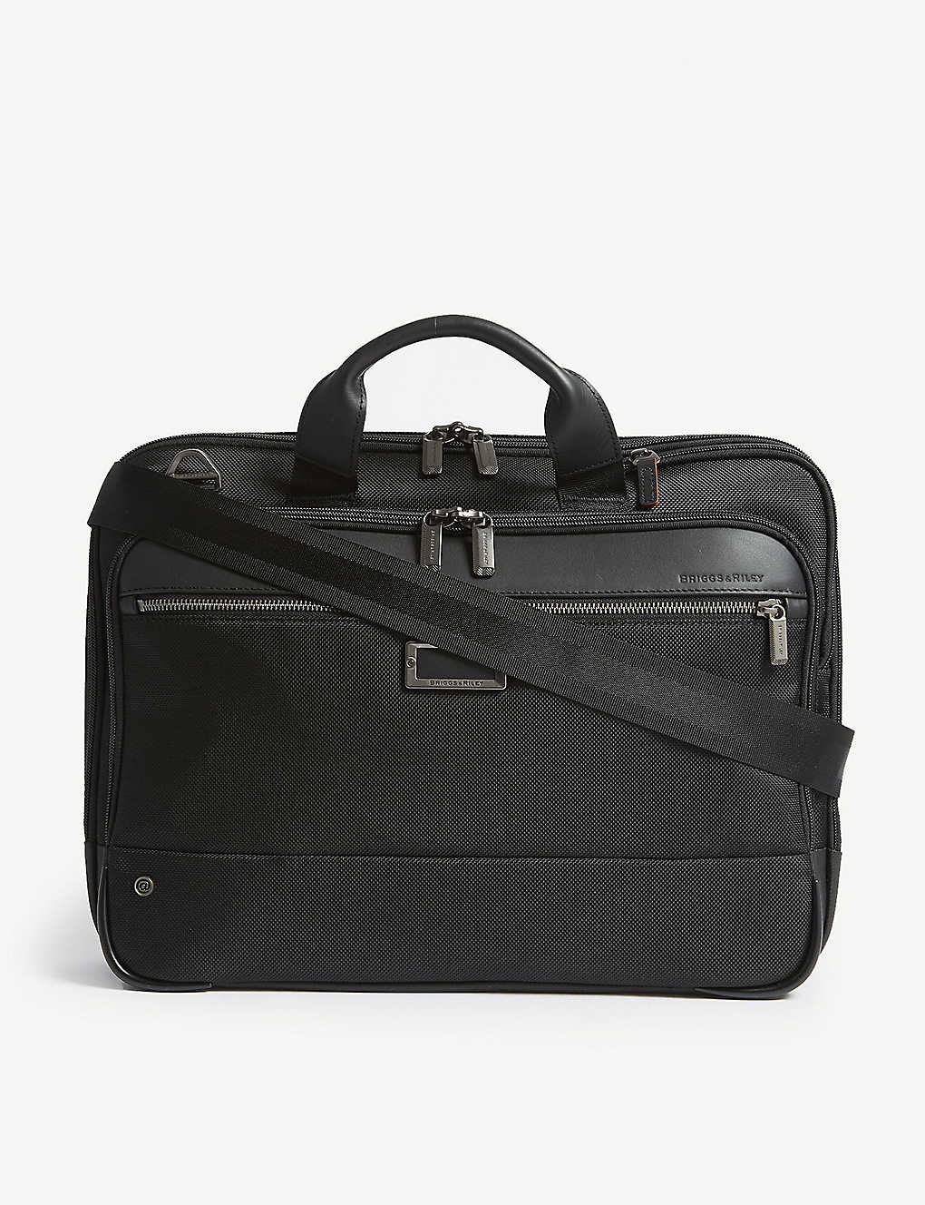 BRIGGS & RILEY: @work Slim nylon briefcase