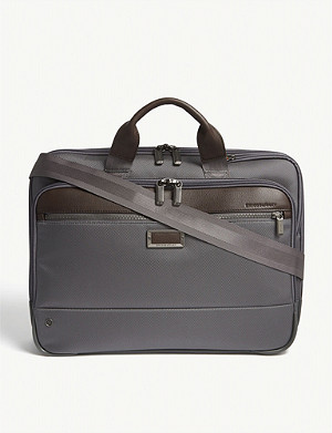 BRIGGS & RILEY @work Slim nylon briefcase