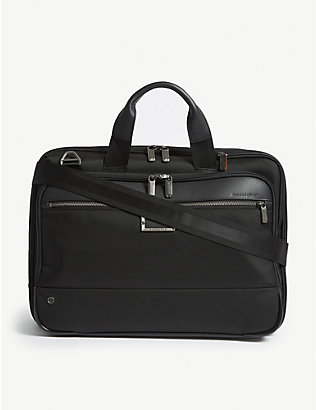 BRIGGS & RILEY: @work Medium Expandable nylon briefcase