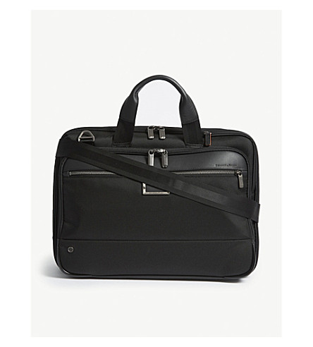 dee844f2ca1b BRIGGS & RILEY - @work Medium Expandable nylon briefcase ...