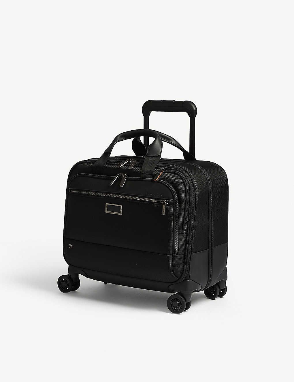 BRIGGS & RILEY: @work medium spinner nylon briefcase