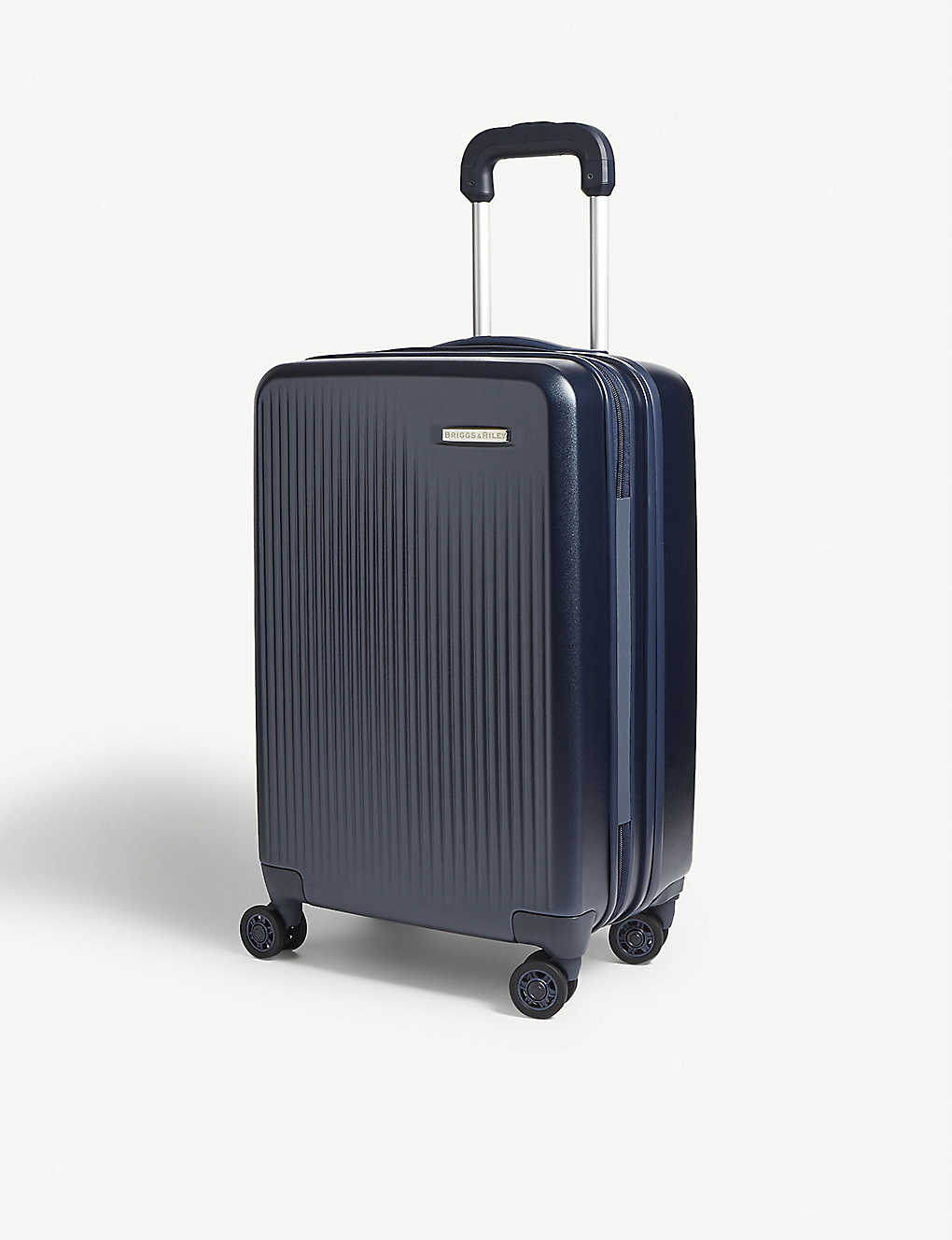BRIGGS & RILEY: Sympatico carry-on expandable four-wheel suitcase 58cm