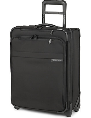 BRIGGS & RILEY: Baseline International carry-on expandable upright suitcase 51cm
