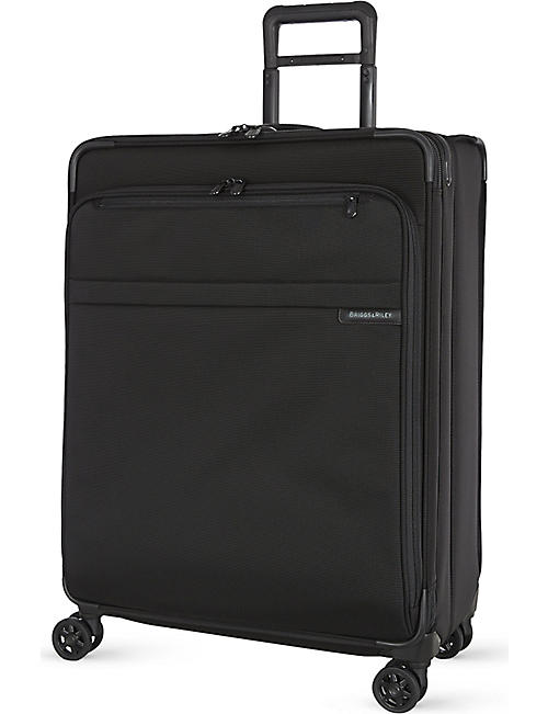 BRIGGS & RILEY: Large expandable spinner suitcase 71.1cm