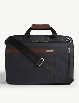BRIGGS & RILEY: Kinzie convertible briefcase/backpack/two-wheel case