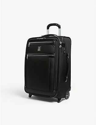 TRAVELPRO: Platinum Elite Rollaboard expandable cabin suitcase 53cm