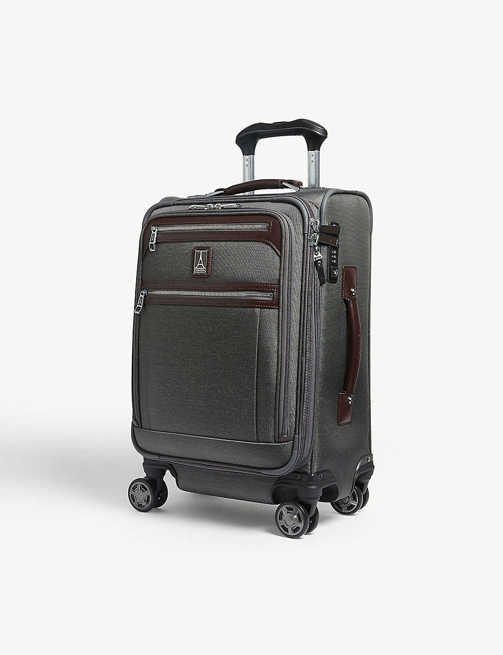 TRAVELPRO: Platinum Elite Business Plus expandable cabin suitcase 51cm