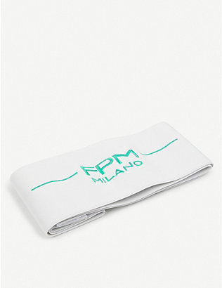 FPM - FABBRICA PELLETTERIE MILANO: Bank S Fluo branded elasticated suitcase strap