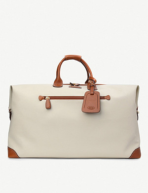 BRICS Firenze leather medium holdall