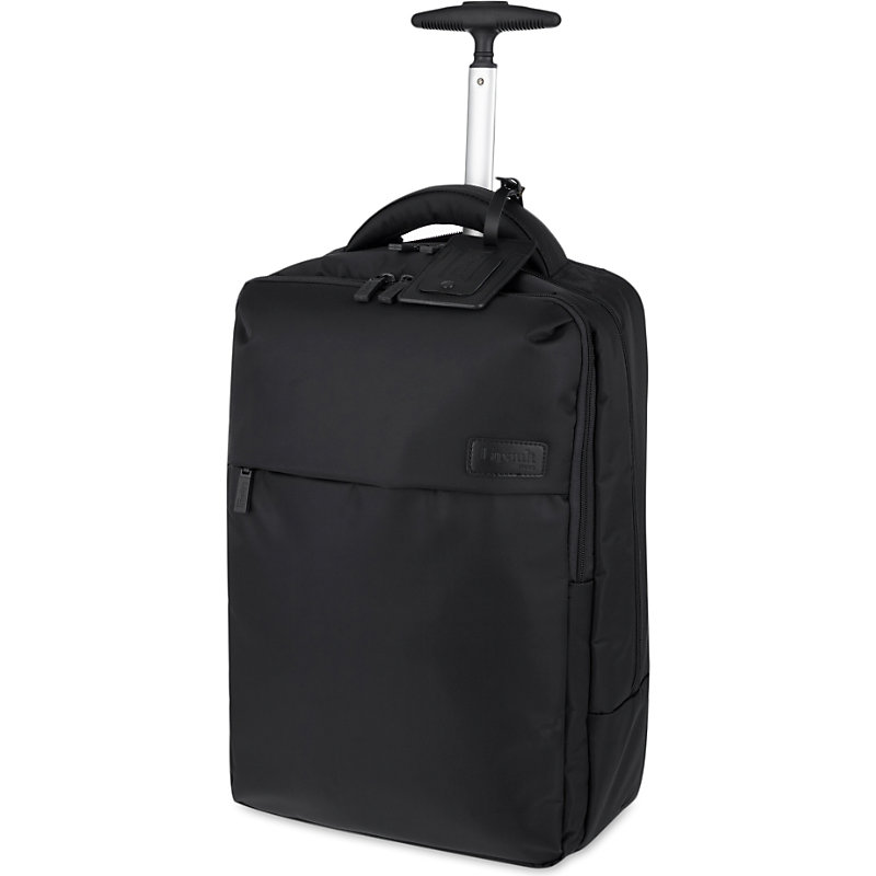 LIPAULT | Lipault Plume Business Two-Wheel Laptop Backpack 47cm, Black | Goxip