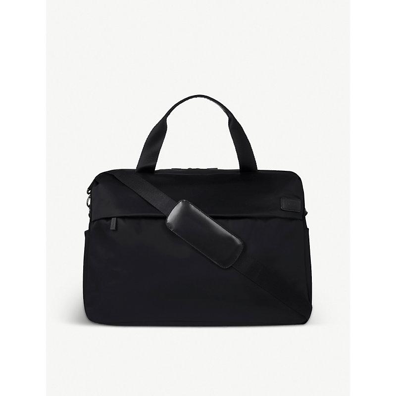 LIPAULT | Lipault City Plume Duffle Bag, Black | Goxip