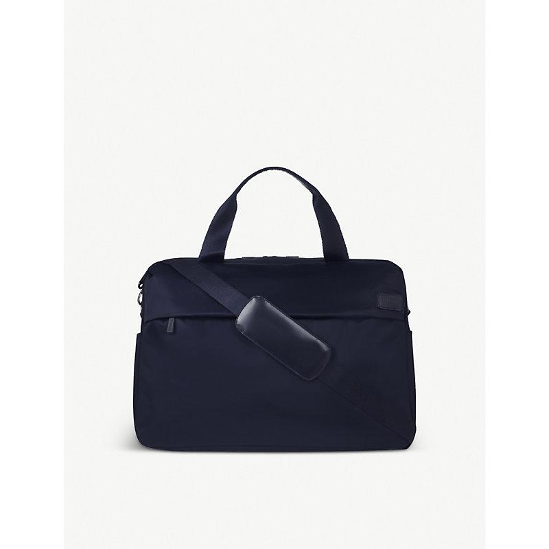 LIPAULT | Lipault City Plume Duffle Bag, Navy | Goxip