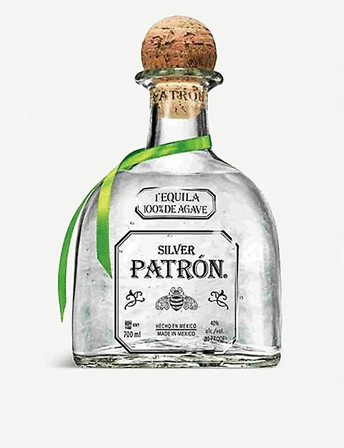 PATRON: Silver tequila 700ml