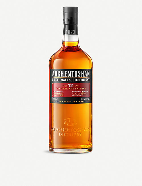 AUCHENTOSHAN: 12-year-old single malt Scotch whisky 700ml