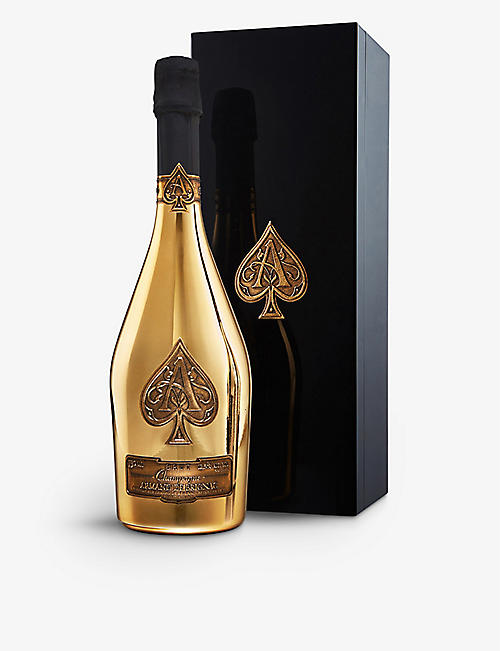 ACE OF SPADES: Armand de Brignac Brut Gold NV champagne 750ml