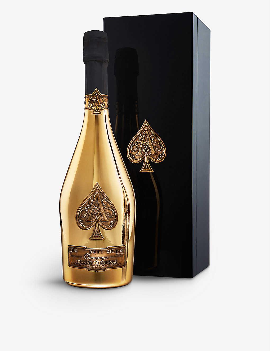 Ace Of Spades Armand De Brignac Brut Gold Nv Champagne 750ml Selfridges Com