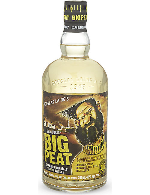 BLENDED WHISKY Bug Peat Islay blended malt Scotch whisky