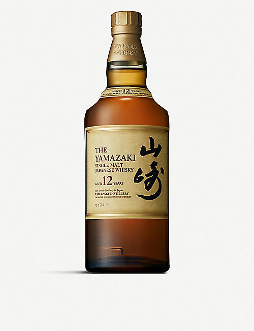 SUNTORY: Yamazaki 12-year-old single malt Japanese whisky 700ml