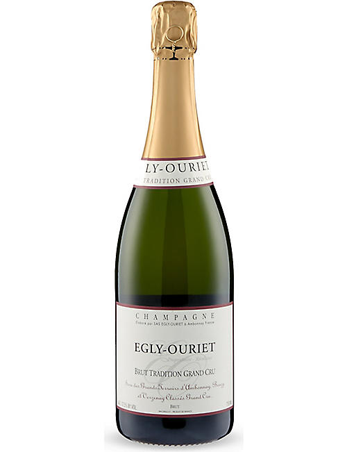 EGLY OURIET: Egly-Ouriet Brut Tradition Grand Cru champagne 750ml