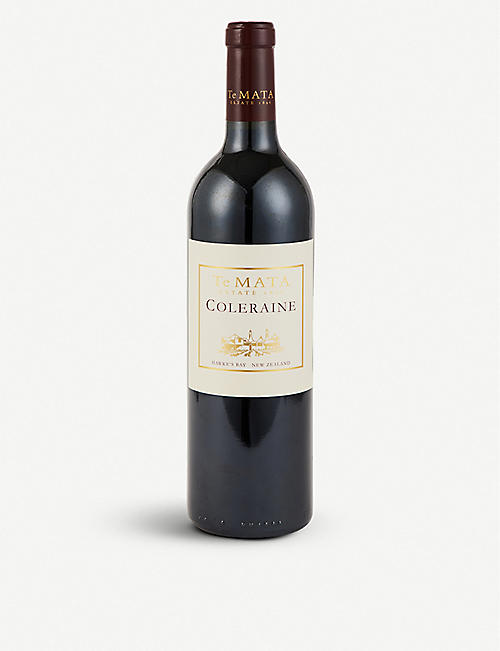 TE MATA Coleraine red wine 750ml