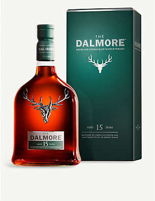 DALMORE: 15-year-old single malt Scotch whisky 700ml