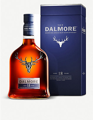 DALMORE: 18-Year-Old single malt scotch whisky 700ml