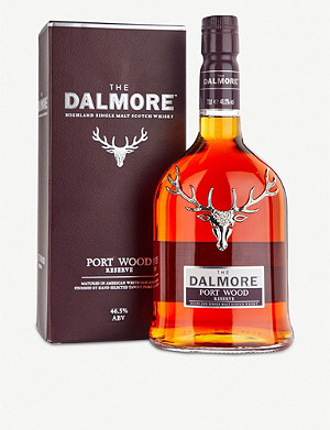 WHISKY AND BOURBON Dalmore Portwood Reserve single malt Scotch whisky 700ml