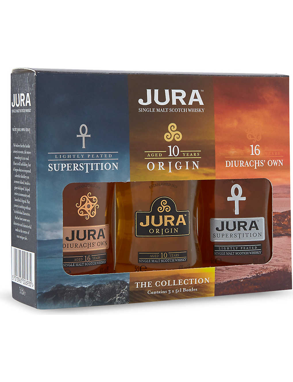 ISLE OF JURA: Miniture gift set 3x50ml