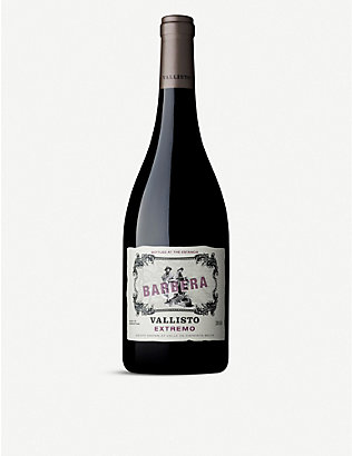 ARGENTINA: Vallisto Extremo barbera wine 750ml