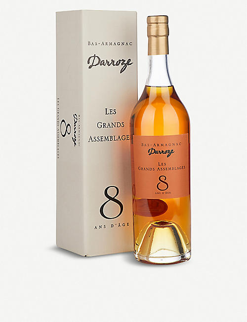 FRANCOIS DARROZE Les Grands Assemblages 8-year-old Armagnac 700ml