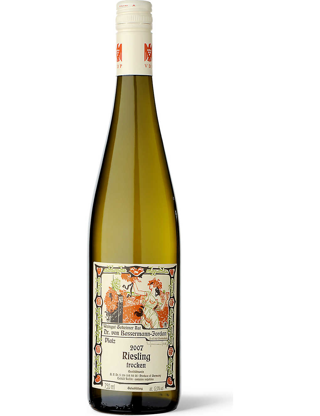 BASSERMANN JORDAN: Estate Dry Riesling 750ml