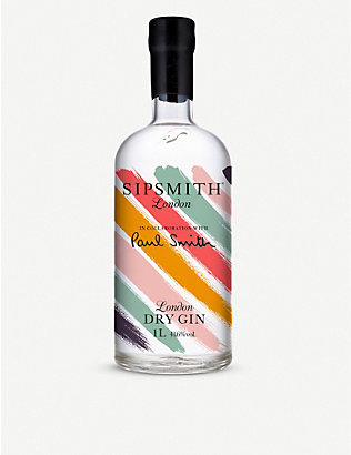 SIPSMITH: Paul Smith x Sipsmith London dry gin 1l