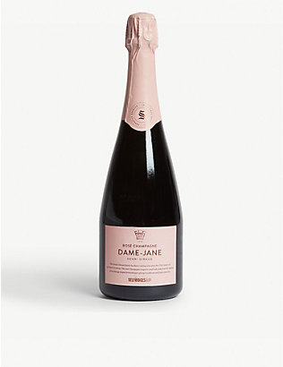 SELFRIDGES SELECTION: Dame-Jane NV rosé champagne 750ml