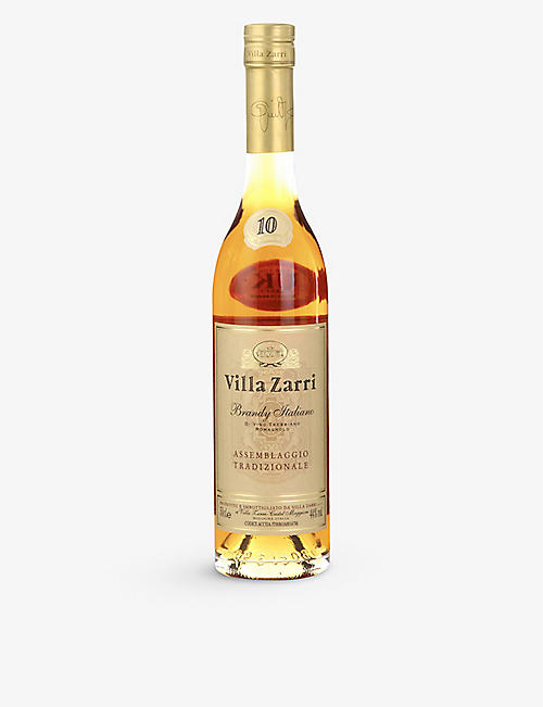 BRANDY: Villa zarri 10 year old brandy 500ml
