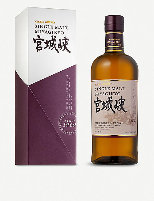 NIKKA: Miyagikyo single malt whisky 700ml