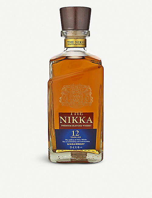 NIKKA: The Nikka 12 Year Old Blended Whisky 700ml