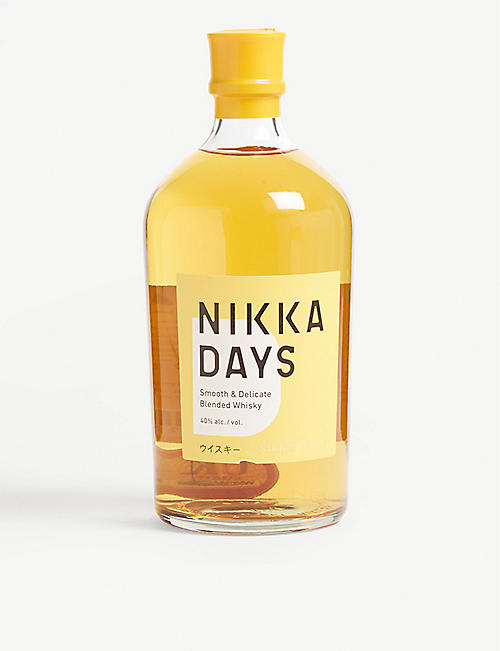 WHISKY AND BOURBON: Nikka Days blended whisky 700ml