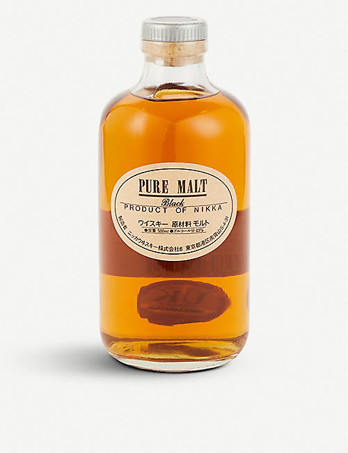 NIKKA Nikka Black pure malt blended whisky 700ml