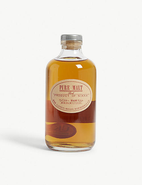 NIKKA: Pure malt red whisky 500ml