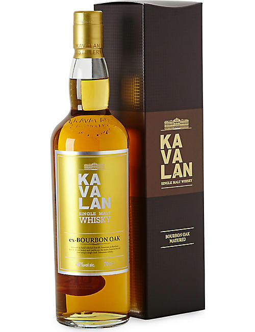 WORLD WHISKEY: Kavalan bourbon oak 700ml