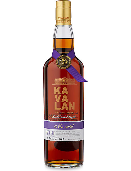 WORLD WHISKEY: Kavalan Solist Moscatel cask 700ml