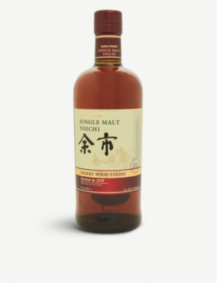 WHISKY AND BOURBON Yoichi Sherry Wood Finish single malt whisky 700ml