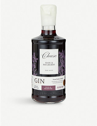 CHASE: Chase Oak-aged Sloe and Mulberry gin 500ml