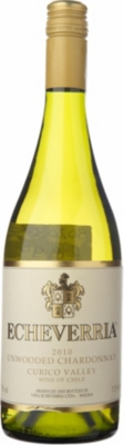 ECHEVERRIA Unwooded Chardonnay 750ml